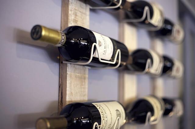 botelleros de pared para vino